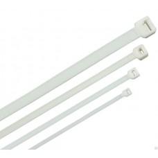 Пластиковые ремешки и стяжки (белые)